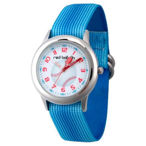 Boys' Red Balloon Stainless Steel Watch - Blue - image 1 of 2
