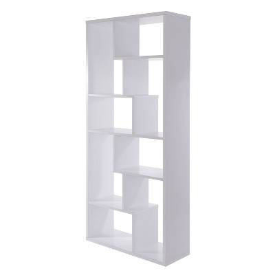 "71"" Decorative Bookshelf White - Acme Furniture"