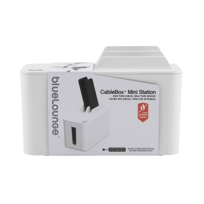 CableBox Mini Station White - BlueLounge