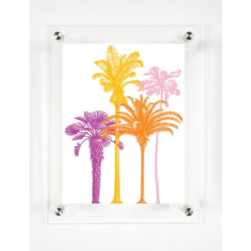 Mitchell Black Golden Girls Decorative Framed Wall Canvas Miami