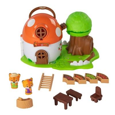 Fat Brain Toys Timber Tots Mushroom Surprise