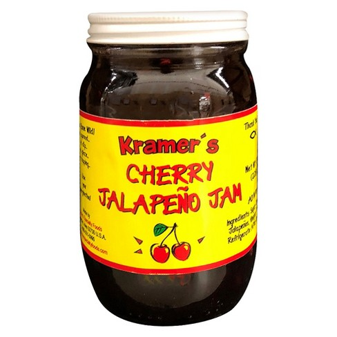 Kramer's Cherry Jalapeno Jam - 8oz Jar - image 1 of 1