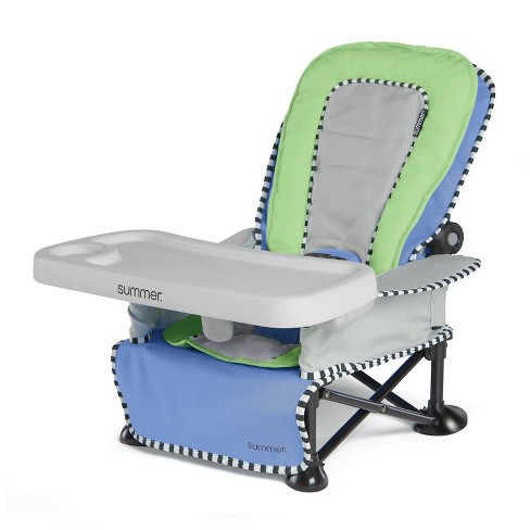 Summer Infant Pop 'n Sit Sweet Life Edition Recline Lounger - Blue Raspberry - image 1 of 10