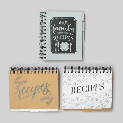 3pk Recipe Planners - Bullseye's Playground™ - image 1 of 4