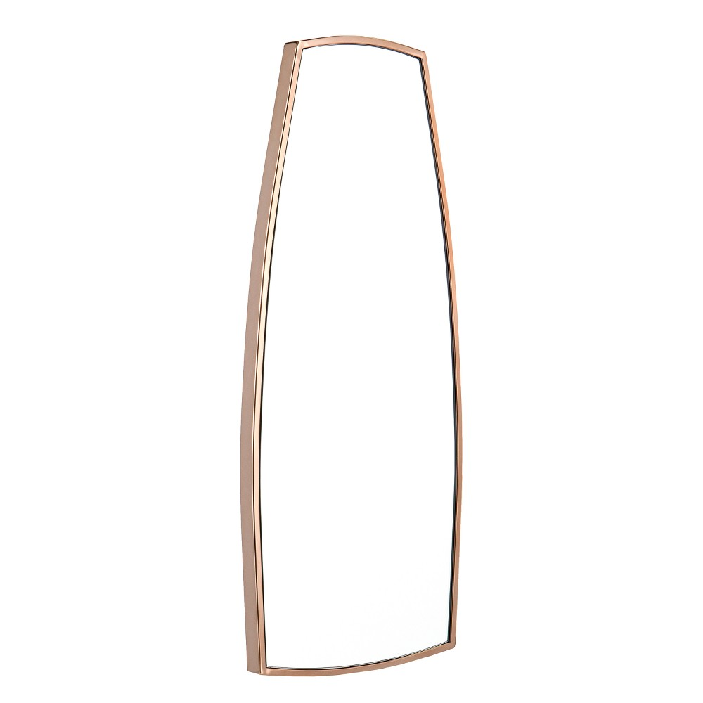 "Image of ""Holly & Martin 41.5""""x17.25"""" Skwire Full Length Wall Floor Mirror Champagne (Beige)"""