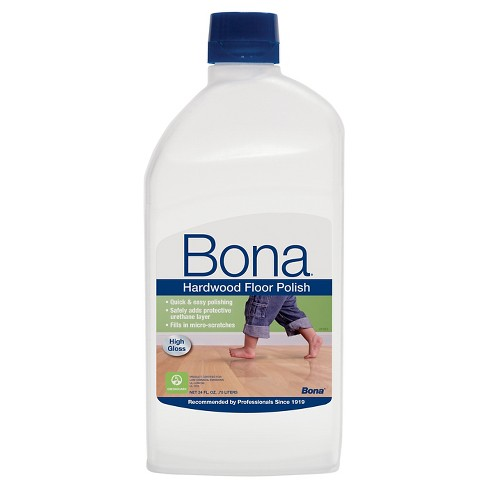 Bona High Gloss Hardwood Floor Polish 24 Oz Target