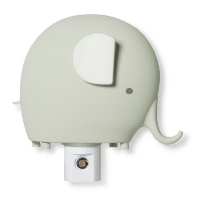Automatic Nightlight Elephant - Cloud Island™ Gray