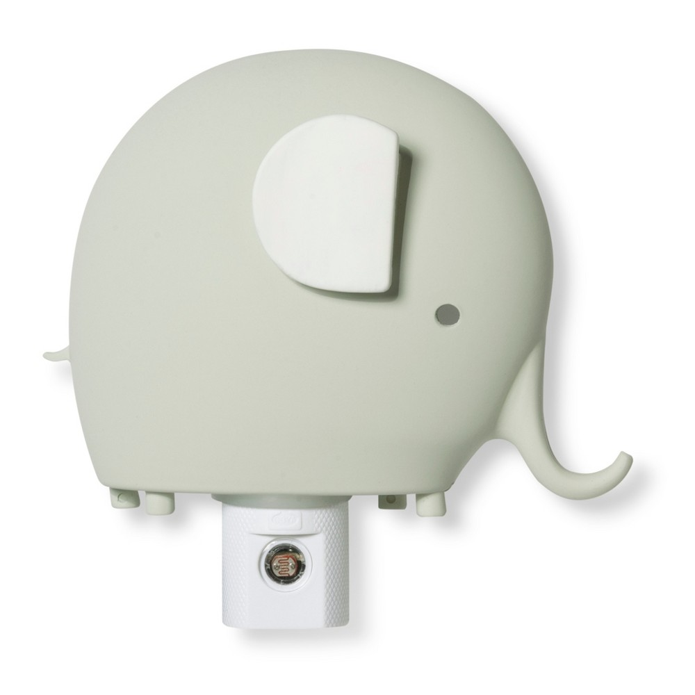 Image of Automatic Nightlight Elephant - Cloud Island Gray