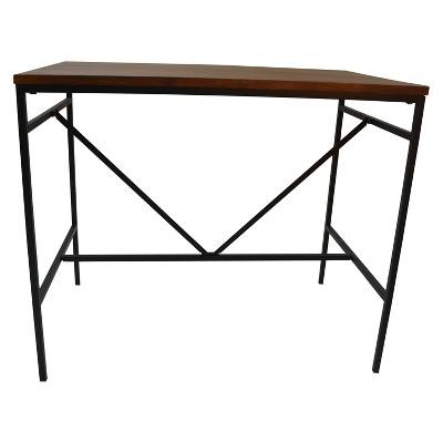 Ira Bar Table Chestnut/Black - Carolina Cottage