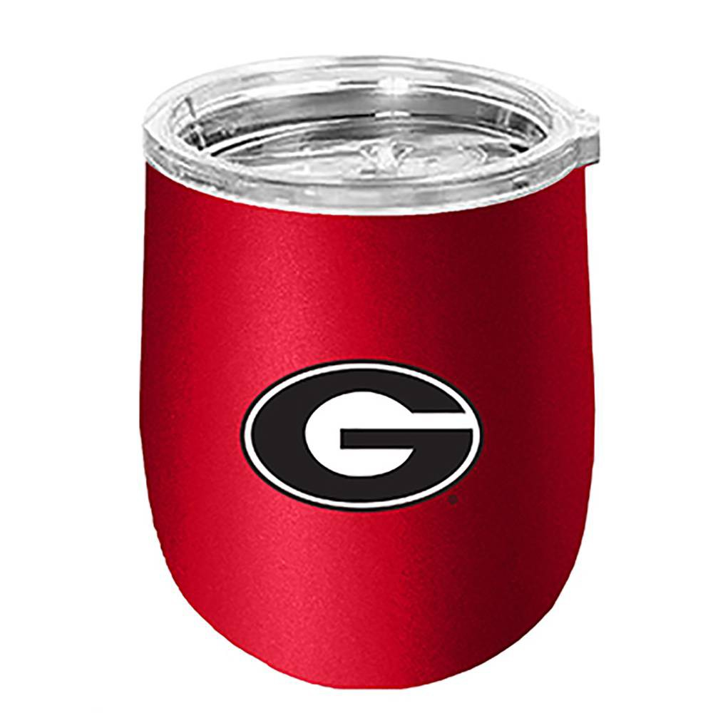 NCAA Georgia Bulldogs Matte Stainless Steel Wine Tumbler