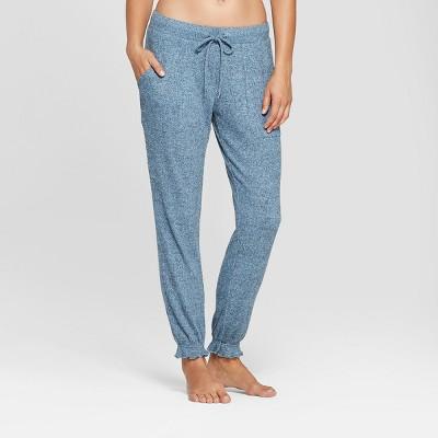 Women's Cozy Jogger Pajama Pants - Gilligan & O'Malley™ Light Blue XS