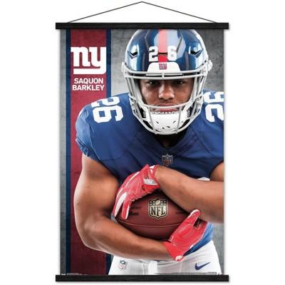 Trends International NFL New York Giants - Saquon Barkley 18 Framed Wall Poster Prints