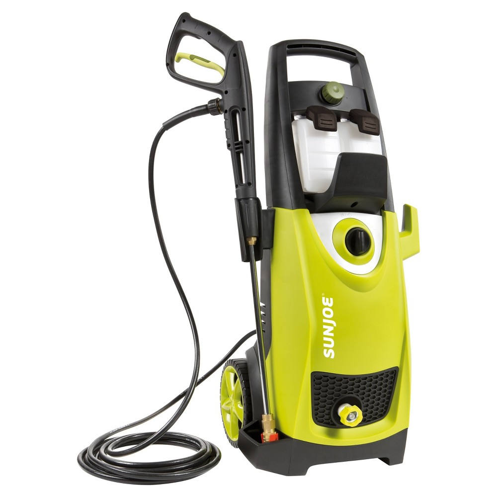 Sun Joe 2030 Psi 1.76 Gpm 14.5 Amp Electric Pressure Washer, Green