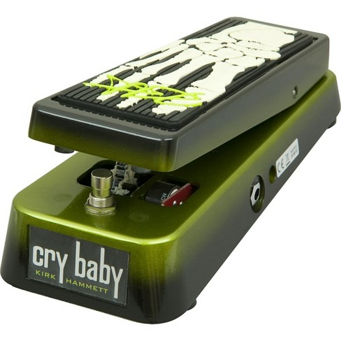 Dunlop KH95 Kirk Hammett Signature Cry Baby Wah Guitar Effects Pedal Black and Green - image 1 of 4