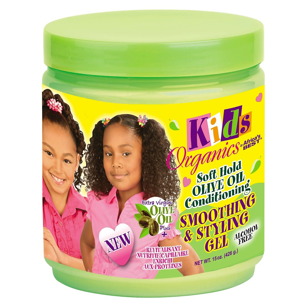 Image of Africa's Best Organics Olive Oil Conditioning Smoothing & Styling Gel for Kids - 15oz