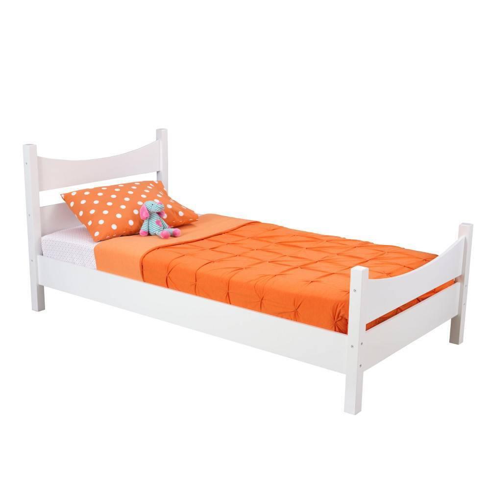 Image of Twin Addison Bed White - KidKraft