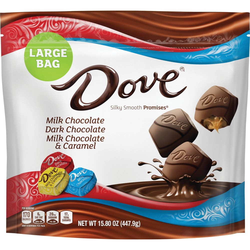 Dove Promises Variety Pack Chocolate Candies 15 8oz