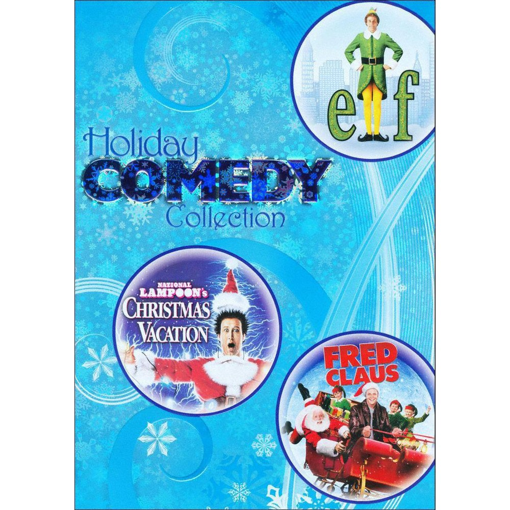 Holiday Comedy Collection: Elf/National Lampoon's Christmas Vacation/Fred Claus (3 Discs) (dvd_video)