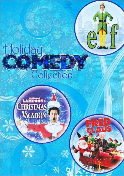 Holiday Comedy Collection: Elf/National Lampoon's Christmas Vacation/Fred Claus (3 Discs) (dvd_video) - image 1 of 1