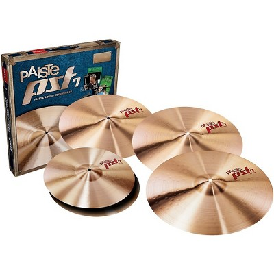 """Paiste PAISTE PST7 UNIVERSAL CYMBAL SET W/FREE 16"""" 170US16 14, 16, 18 and 20 in."""