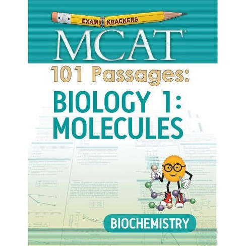 Examkrackers MCAT 101 Passages: Biology 1: Molecules - by  Jonathan Orsay (Paperback) - image 1 of 1