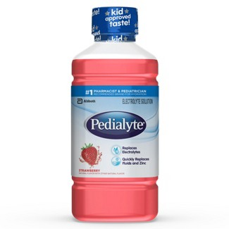 Pedialyte® Oral Electrolyte Solution - Strawberry 1L