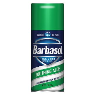 Barbasol Soothing Aloe Thick & Rich Shave Cream - 7oz