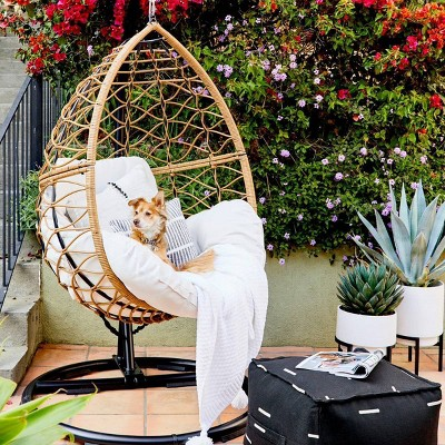 Britanna Patio Hanging Egg Chair Natural Opalhouse Target