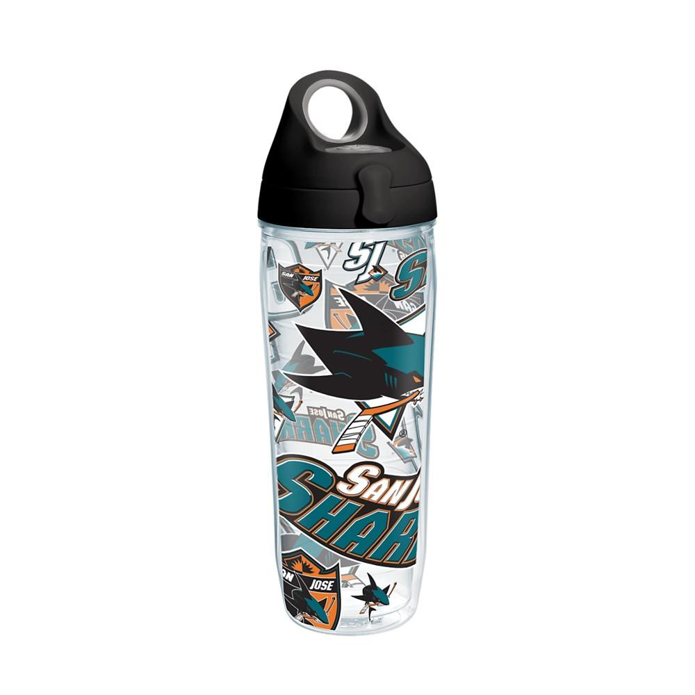 NHL San Jose Sharks 24oz Water Bottle All Over