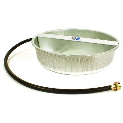 Little Giant 13-Quart Galvanized Steel Ever Full Pet Water Bowl Dish