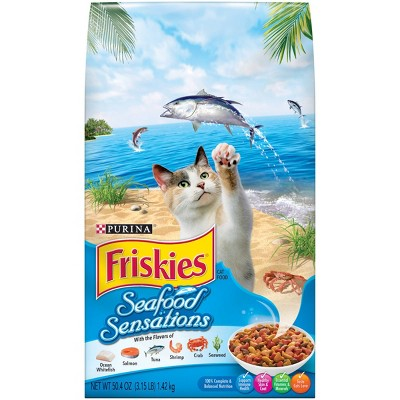 Cat Food: Friskies Seafood Sensations