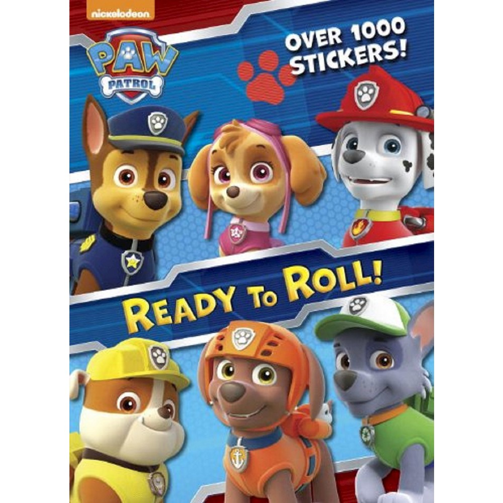 Paw Patrol: Ready to Roll by Nickelodeon (Paperback) by Golden Books Publishing Company