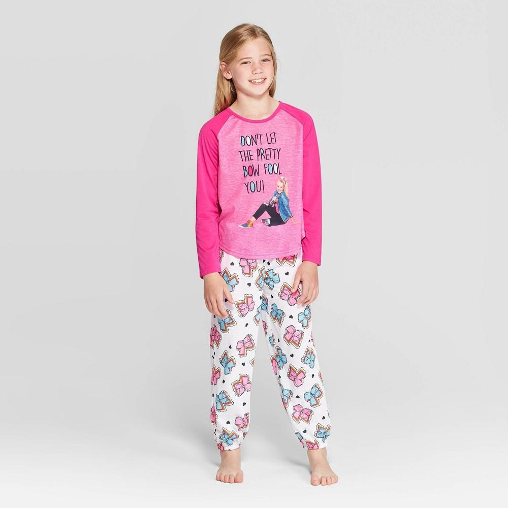 Image of Girls' JoJo Siwa 2pc Pajama Set - Pink 10, Girl's