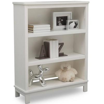 Delta Children Farmhouse Bookcase/Hutch - Textured White