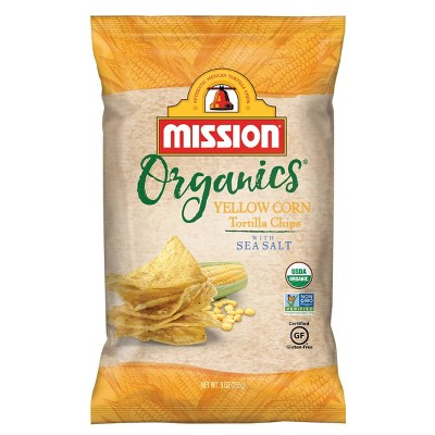 Tortilla & Corn Chips: Mission Organics