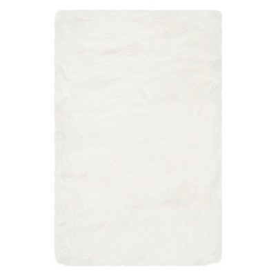 2'X3' Solid Accent Rug Ivory - Safavieh