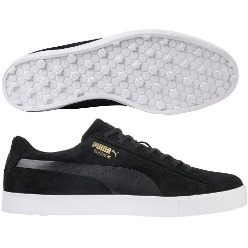 24b8273f722 About this item. Details. Shipping   Returns. Q A. PUMA Suede G Spikeless Golf  Shoes Black ...