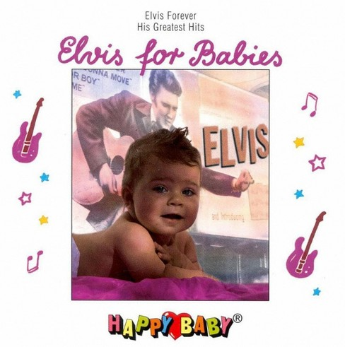 Happy baby - Elvis for babies (CD) - image 1 of 1