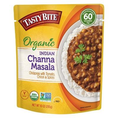 Tasty Bite Gluten Free and Vegan Indian channa Masala - 10oz