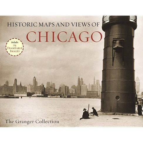 Historic Maps and Views of Chicago - (Historic Maps and Views Of...) (Paperback) - image 1 of 1