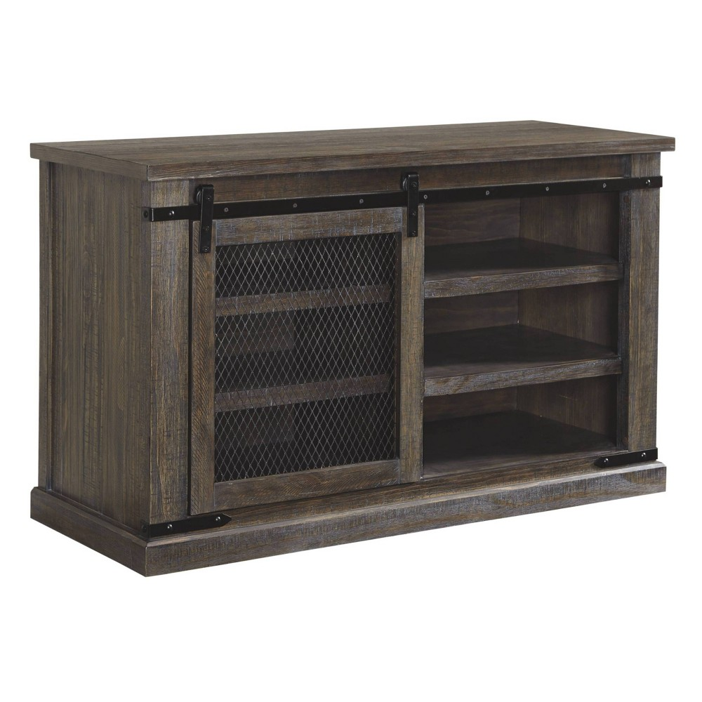 "Image of ""40"""" Danell Ridge TV Stand Brown - Signature Design by Ashley"""