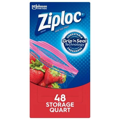 Ziploc Storage Quart Bags - image 1 of 4