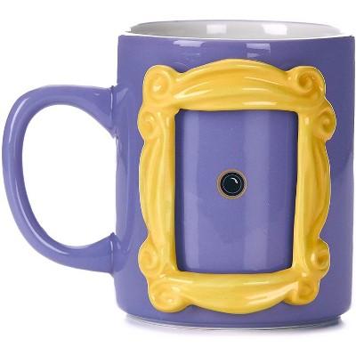Friends Frame 10.5oz Shaped Ceramic Coffee Mug