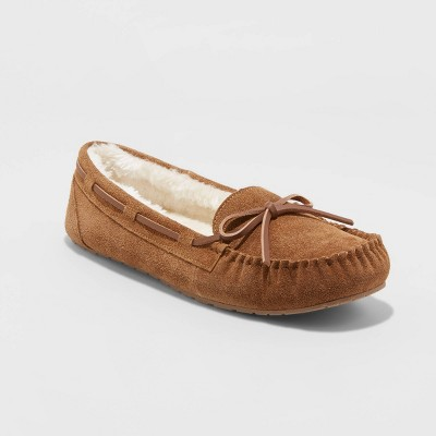 Women's Chaia Genuine Suede Moccasin Slippers - Stars Above™