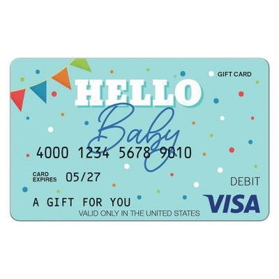Visa New Baby eGift Card - $50 + $5 Fee (Email Delivery)