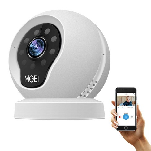 MobiCam Multi-Purpose, WiFi Video Baby Monitor - Baby Monitoring System - WiFi Camera with 2-way Audio, Recording - image 1 of 4