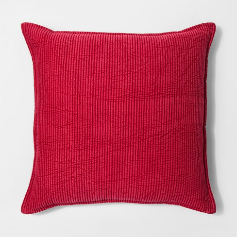 Oversize Chambray Pillow - Threshold™ - image 1 of 1