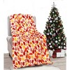 Kate Aurora Ultra Soft & Plush Fall Autumn Leaves Hypoallergenic Fleece Throw Blanket Cover - - image 2 of 2