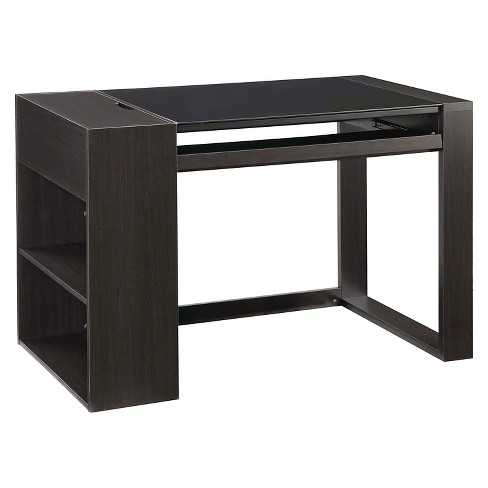 Afton Computer Desk Black - Whalen - image 1 of 8