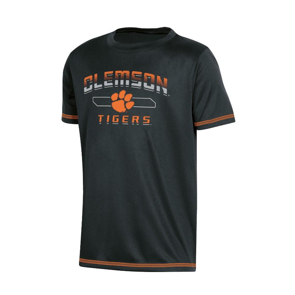 NCAA Boys' Poly T-Shirt Clemson Tigers - XL, Multicolored